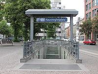U2 Hausvogteiplatz street entrance.jpg