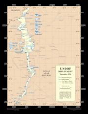 UNDOF deployment September 2014