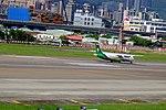 UNI Air ATR 72-600 B-17015 Taking off from Taipei Songshan Airport 20150908b.jpg