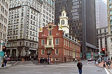 Old State House Boston Wikipedia - How old is the united states of america