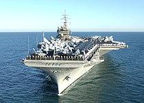 USS Constellation (CV-64) off Perth, Australia, on 29 April 2003.jpg