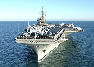 USS Constellation (CV-64) off Perth, Australia, on 29 April 2003.jpg