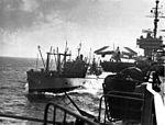 USS Firedrake (AE-14) alongside Kitty Hawk (CVA-63) off Vietnam c1965.jpg