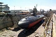 USS Greeneville (SSN 772) - dry dock Pearl Harbor (1)