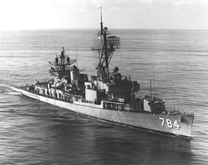 USS McKean (DD-784) - McKean following her FRAM I conversion.