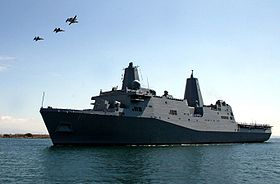 USS New Orleans (LPD-18) i San Diego