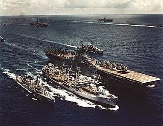USS <i>Platte</i> (AO-24) Cimarron-class oiler
