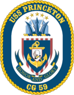 USS Princeton CG-59 Crest
