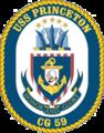 USS Princeton CG-59 Crest.png