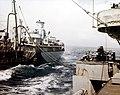 USS Tomahawk (AO-88) refueling McKee (DD-575) in March 1945.jpg