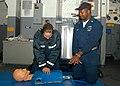 US Navy 030226-N-8029P-002 how to properly apply Cardiac Pulmonary Resuscitation.jpg