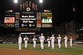 US Navy 070706-O-7863V-001 The U.S. Navy Ceremonial Guard entertains a sold-out crowd at the Detroit Tigers baseball game at Comerica Park.jpg