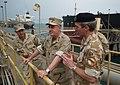 US Navy 091125-N-6156A-008 Adm. J. C. Harvey Jr. is briefed by Royal Navy Commodore James Morse.jpg