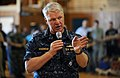 US Navy 100503-N-5862D-445 Chief of Naval Operations (CNO) Adm. Gary Roughead answers questions from Sailors and their families at Naval Support Activity Mid-South in Millington, Tenn.jpg