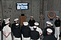 US Navy 110526-N-IK959-600 ear Adm. David F. Steindl, commander of Naval Service Training Command (NSTC), talks to newly-commissioned ensigns from.jpg