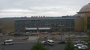 Ufa station reconsruction on 14 July, 2019.jpg