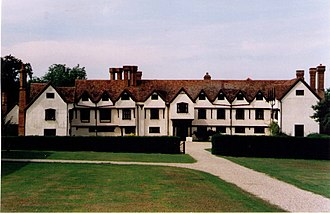 Ufton Court - View of the house from the main drive