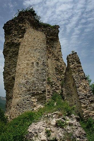 Vakhtang I of Iberia - Ruins of Ujarma, once an Iberian stronghold under Vakhtang