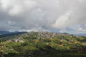 Ukhrul - Image: Ukhrul South View