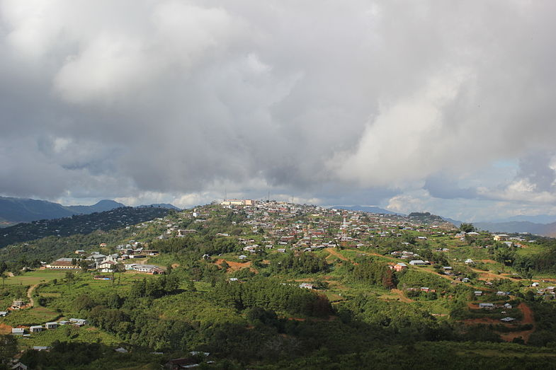 Ukhrul town Ukhrul -South View.jpg