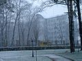 Ukraine Irpen 2010. First snow. Local Clinic 2.jpg