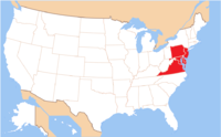 Ukrainian Catholic Archeparchy of Philadelphia map.png