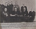 Ukrainian delegation for peace talks with Russian Soviet Republic, 1918.jpg
