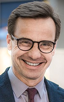 Ulf Kristersson in 2018 Swedish general election, 2018 (cropped).jpg