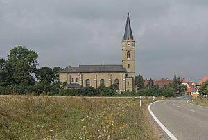 Sugenheim - Image: Ullstadt, katholische Pfarrkirche Mariä Himmelfahrt Dm D 5 75 165 98 IMG 2138 2016 08 06 10.17