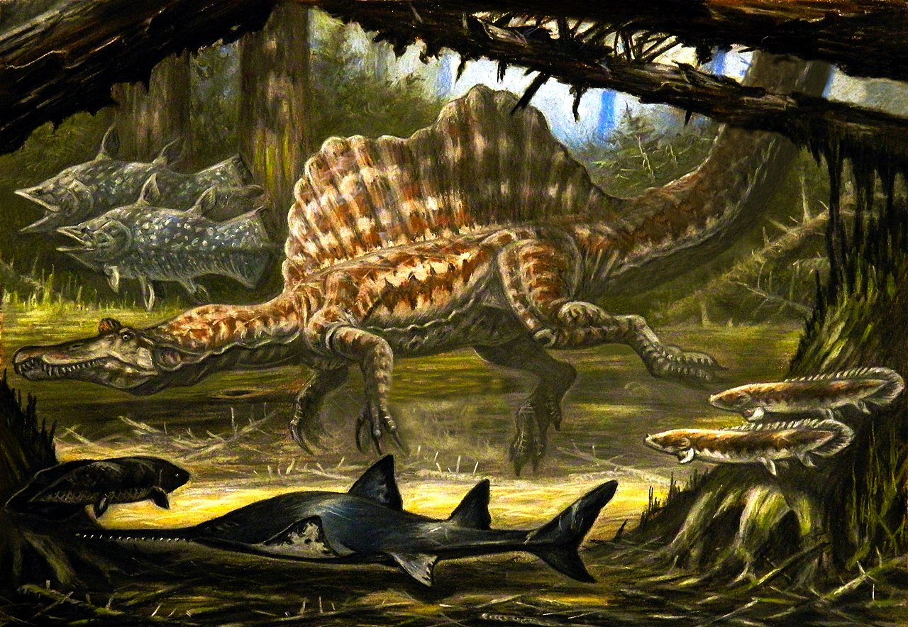 Underwater Spinosaurus ecology.jpg