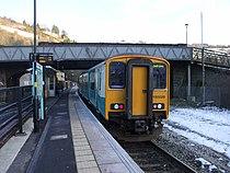 Unit 150229 at Llanhilleth railway station in 2009.jpg