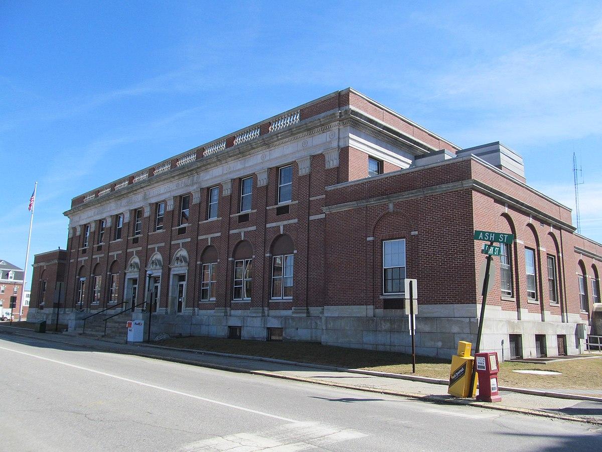 Lewiston main post office wikipedia - United states post office ...
