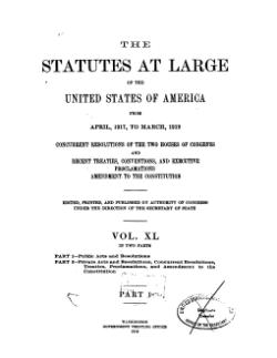 United States Statutes at Large Volume 40 Part 1.djvu