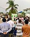 University of Calabar DL campus fellowship holding a crusade.jpg