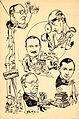 University of Liverpool Medical Students' dinner card cartoon, 1934 (14652167352).jpg