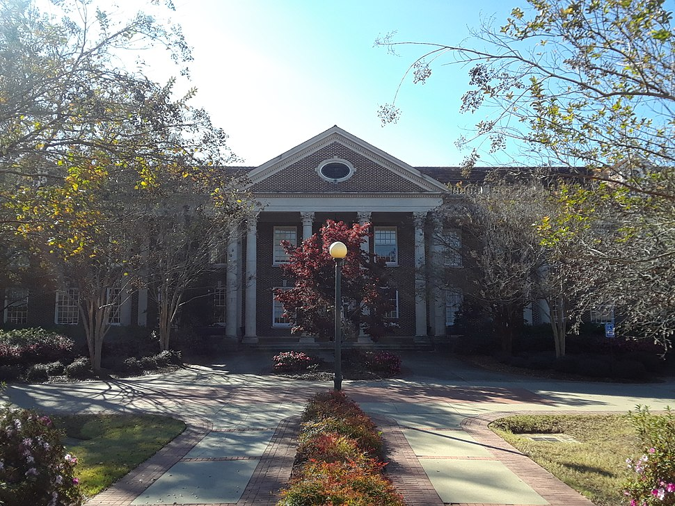 University of Mississippi Bondurant Hall Front