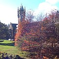 University of Otago clock tower in autumn.jpg