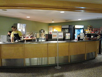 Students' Building (Vassar College) - The UpC Cafe on the building's third floor, closed in 2015