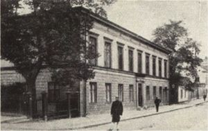 Stockholms nation - The nation building in the early 1900s