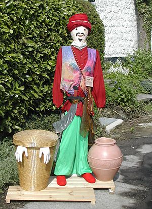 Scarecrow - Urchfont Scarecrow Festival, Ali Baba