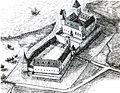 Ushakovo, Kaliningrad Oblast (russisch Ушаково, deutsch Brandenburg am Frischen Haff), Castle (2).jpg