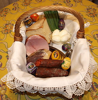 Easter egg - Croatian Easter basket