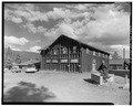 VIEW EAST - Old Faithful Lodge, Linen Building, 140' Northeast of Lodge Entrance, West Thumb, Teton County, WY HABS WYO,20-OFAIT,2B-1.tif