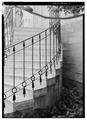 VIEW OF BALUSTRADE WITH ARROW BALUSTERS - Lemon Hill, Lemon Hill Drive, Philadelphia, Philadelphia County, PA HABS PA,51-PHILA,234-19.tif