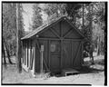 VIEW SOUTH - Roosevelt Lodge, Cabin No. 442, Tower Junction, Park County, WY HABS WYO,15-TOWJU,1B-1.tif