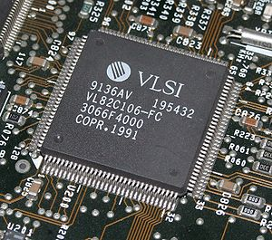 VLSI Technology - A VLSI VL82C106 Super I/O chip