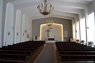 Vaajakoski - Image: Vaajakosken kirkko 1