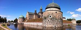 Vadstena - Image: Vadstena Castle