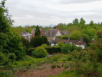 Stella Gibbons - The Vale of Health on Hampstead Heath, where Gibbons lived with her brothers after their parents' deaths