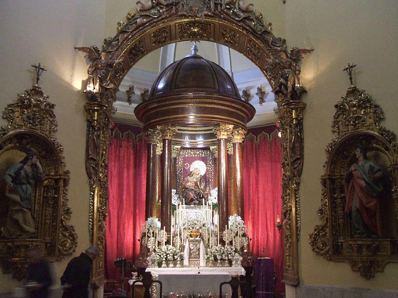 Valladolid - Iglesia de Nuestra Señora de las Angustias 08.JPG